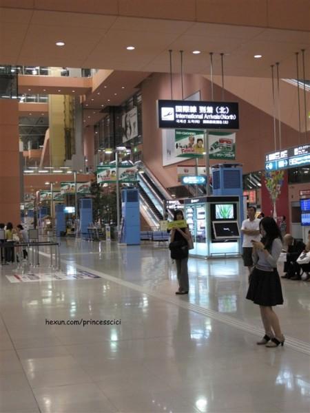 大阪的飞机场很小