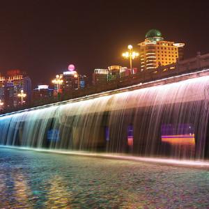 南宁晚上风景图片