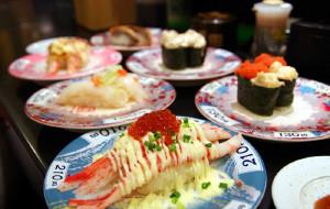 东京美食-元祖寿司(新宿西口店)