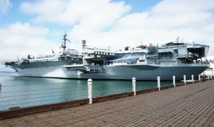 +圣地亚哥+中途岛号航空母舰一日游