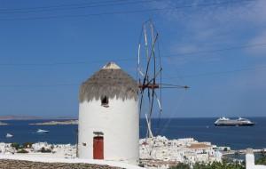 【爱琴海图片】希腊之旅...米克若斯小镇风光