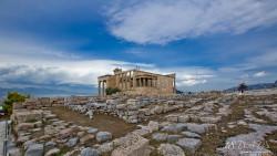 希腊景点-伊瑞克提翁神庙