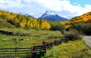 【科罗拉多州图片】美国中部大环游,科罗拉多金色的秋天(十三)