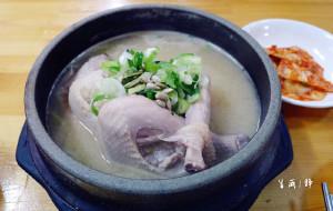 韩国美食-土俗村参鸡汤