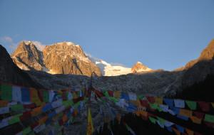 """【德格图片】6000米级别雪山最值得攀登的旅行""""四川雀儿山"""""""