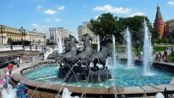 莫斯科景点-亚历山大花园(Alexander Garden)