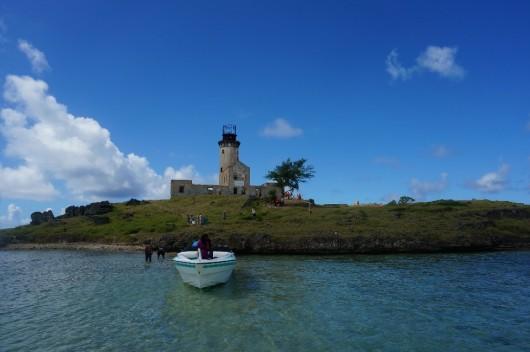 毛里求斯 蓝湾玻璃底船,快艇鹿岛,灯塔岛一日游