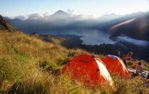 【龙目岛图片】#消夏计划#上山下海,先苦后甜夏令营——印尼龙目岛林查尼火山徒步游