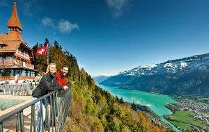 瑞士美食-哈德库观景台