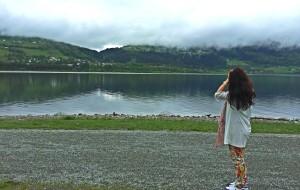 【卑尔根图片】#消夏计划#Megan 毕业旅行在北欧