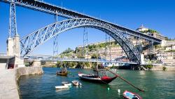 波尔图景点-路易斯一世大桥(Dom Luís Bridge)
