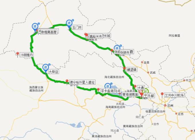 最长的旅途---青海敦煌大环线