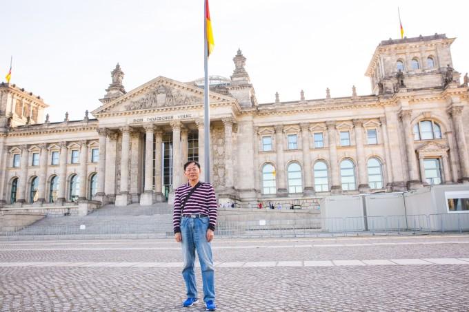 柏林 共产主义旗帜 壁纸