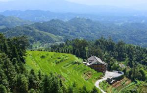 【新化图片】山中岁月-湖南新化紫鹊界闲居,漫步梯田