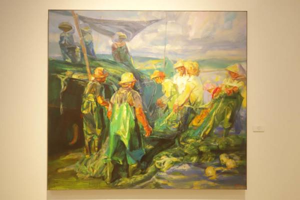 中国油画院画家作品欣赏 2 组图