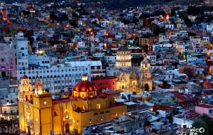 【墨西哥图片】亘古时代的彩色种子--走在瓜纳华托