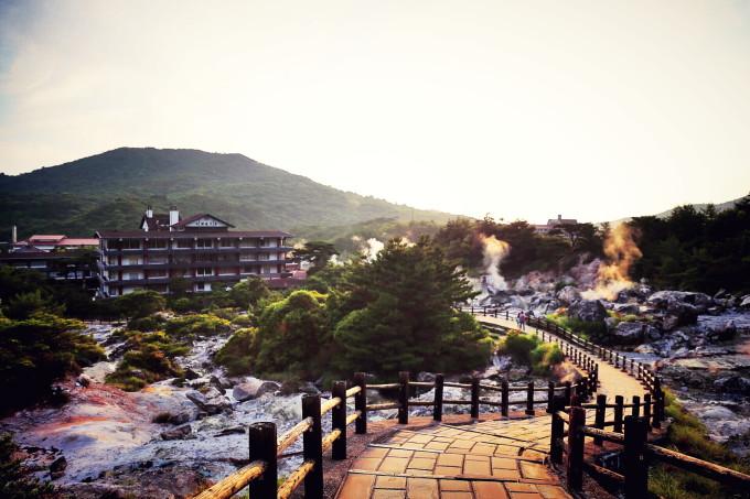 长崎印象--云仙温泉,稻佐山夜景