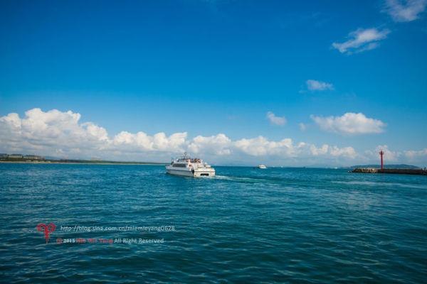 感受激情浪漫的岛屿天堂——蜈支洲岛