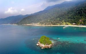【刁曼岛图片】4天3夜马来西亚刁曼岛,浮潜海钓看银河小记