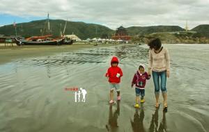 """【岱山图片】我们去看海_201310""""汽车开到沙滩上""""之岱山、定海、乍浦自驾游"""