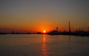 【塘沽图片】海河入海
