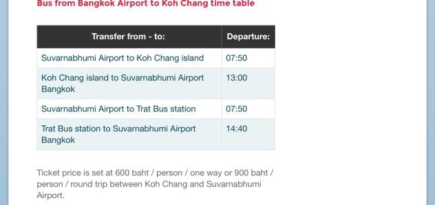 在素万那普机场坐直达象岛专线巴士 392  以下是bus 392的官网