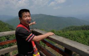【澜沧图片】景迈山上过茶瘾 老子跟着儿子姓