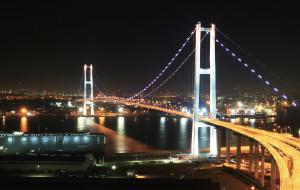【蔚山图片】蔚山大桥-走进醉人夜景的激情之中!