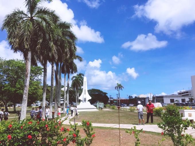 关岛总督府 关岛的总督府占地22,000平方英尺,不但是关岛最高的行政