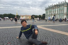 圣彼得堡自由行2016年夏:冬宫(埃尔米塔日博物馆)下。