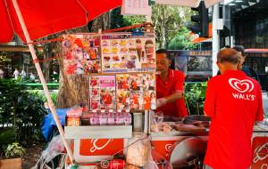 新加坡美食-乌节路街头冰淇淋