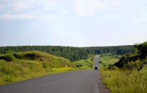 【草原天路图片】风景在路上(女司机、张家口-二连浩特-锡林浩特-多伦)