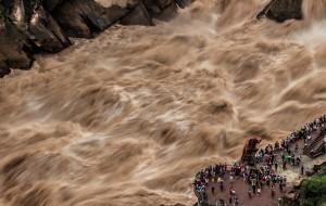 """【香格里拉图片】以""""险""""名天下:Tiger Leaping Gorge 虎跳峡徒步之旅(附详细路线丶交通攻略)"""