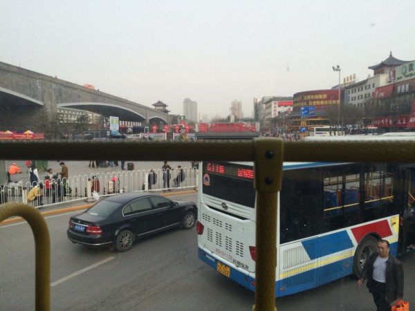 西安火车站603站牌-西安之旅