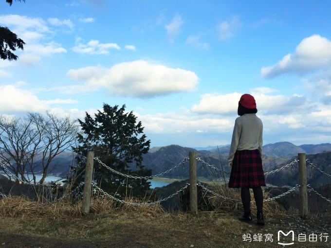 風景與人拍照