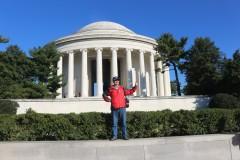 北美之旅...美国独立宣言起草人托马斯杰弗逊总统纪念堂风景区实拍