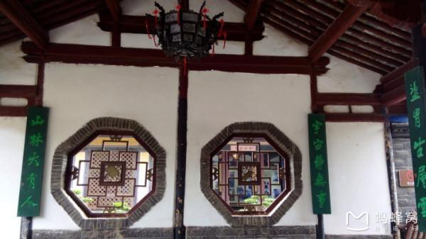中式最典型的八角窗图片