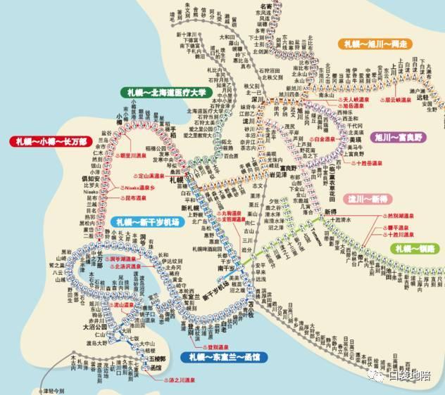 北海道自由行&景点交通问题