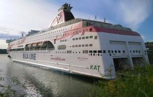 【芬兰图片】北欧游之...乘SiljA LINE号游轮观波罗的海风景随拍