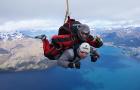 可接急单  新西兰南岛  皇后镇NZONE高空跳伞(世界安全跳伞记录保持者+电子票免打印+接送+纪念证书+中文行中服务)