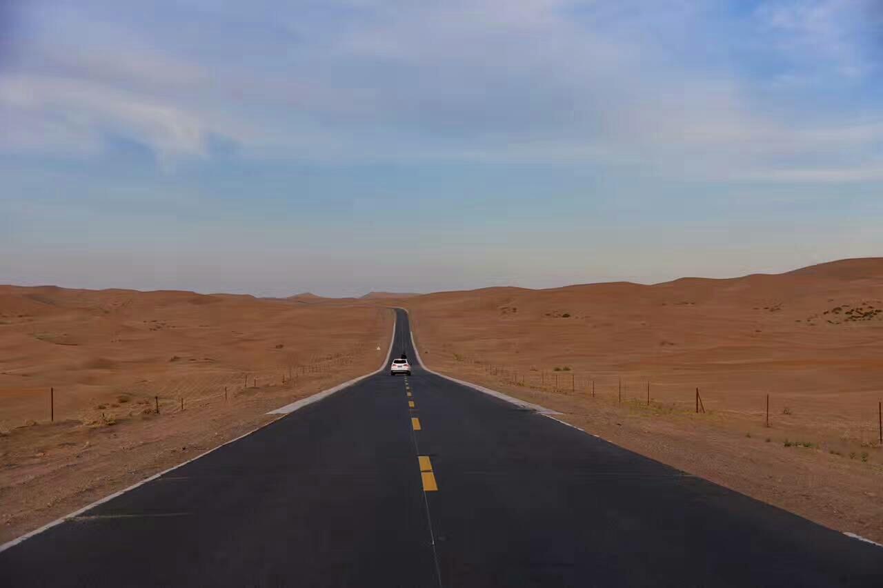 一路向北~走進騰格里沙漠
