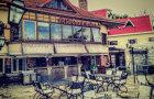 德式风情老建筑·朗园酒吧悠闲时光体验(含下午茶美式咖啡一杯+八大关徒步蝴蝶楼门票一张)