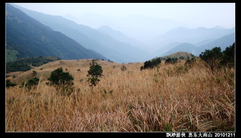 广东惠东大南山精华段穿越