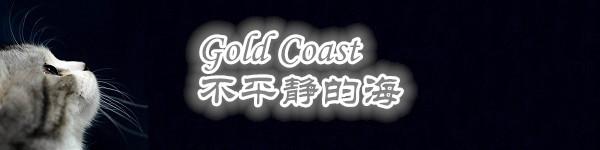 Gold Coast,不平静的海